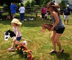 So cute--Horsie Heads on DowellsPennsylvania Kids Pony Ride Childrens Petting Zoo Toddler Barnyard Farm Birthday Party Ideas