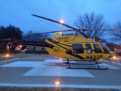 Early morning at MCA. #EMS #HEMS #helicopter