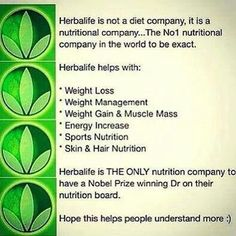 Herbalife #1 company <3 Herbalife Contact me today about becoming your health and wellness coach! Let's set goals and reach them together! Don't forget to ask about my specials!