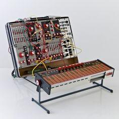 portable Eurorack ~ capacitative plus flat resistor touch keys