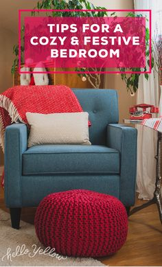 Top Tips for a cozy & festive bedroom. #LeonsHelloHoliday