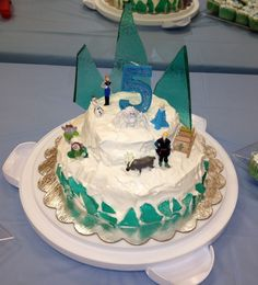 Disneys Frozen Birthday Cake My Girls Pinterest Birthday