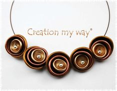 creationmyway polymer clay necklace