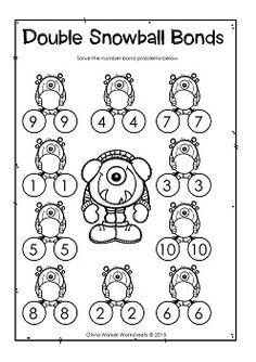 FREE! Enjoy this simple worksheet that combines rekenreks