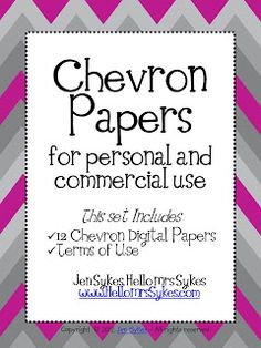 Freebie! Chevron Papers :) $0