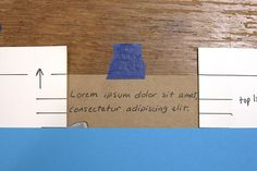 writing in a straight line - adding handwritten text to an artist book by springleafpress