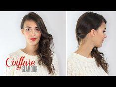 Tuto Coiffure : Cheveux de côté et boucles glamour. #TheBeautyst