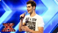 alejandro fernandez first audition x factor - YouTube