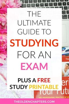 The ultimate guide to help prepare you for your next college exam and finals. Learn the best college study tips, time management techniques and gain inspiration to motivate you to ace that next exam. Includes tips on how to create an organized study syste Week Schedule, Study Schedule, College Schedule, Best Study Tips, Best Study Methods, Final Exam Study Tips, Time Management Techniques, Management Tips, Exams Tips