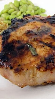 Italian Grilled Pork Chops