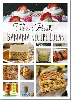Banana Recipe Ideas