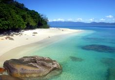 Fitzroy Island, one of the most unspoilt islands in Tropical North Queensland.