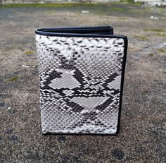 Natural Genuine Snake python Skin Leather Mens Wallet Bifold Purse Free  Shipping  Handmade  Bifold b4790cc2825d