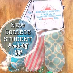 So Much To Make: DIY Sleep Mask College Student Send-off Gift