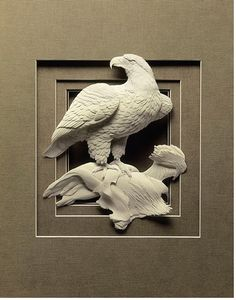 Creative and Beautiful Paper Sculptures by Calvin Nicholls