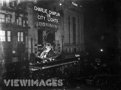 Chaplin's 'City Lights' 1931 Dominion Theatre.