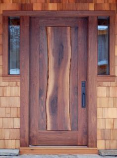 NEWwoodworks Live Edge Fine Woodworking - craftsman - Front Doors - New York - NEWwoodworks Fine Woodworking