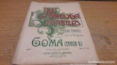 PARTITURA / MARXA DE RAMBLERS. ENRICH G. GOMÀ. ED / VIDAL LLIMONA Y BOCETA.
