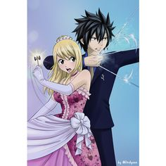 GrayLu/Image Gallery ❤ liked on Polyvore featuring fairy tail