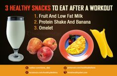 3 healthy snacks to eat after workout Eating After Workout, Health Memes, How To Slim Down, Protein Shakes, Healthy Snacks, Banana, Gym, Diet, Fruit