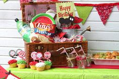I created this sweet Watermelon Picnic party for my grandma's birthday celebration. A family reunion was planned to help celebrate this big milestone. Unfortunately, my little family was unable to make the trip to 90th Birthday, Birthday Celebration, Happy Birthday, Birthday Parties, Birthday Ideas, Pop Up Invitation, Party Invitations, Teacher Luncheon Ideas, Ladybug Picnic