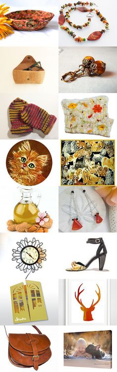 Fall on Fire by Julia on Etsy-- #Fibernique #Etsy #treasury #Autumn #trendy #gifts #Fall #bowl #basket #mittens Pinned with TreasuryPin.com