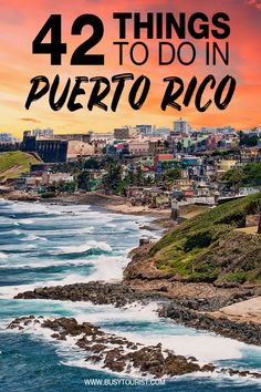 Planning a vacation to Puerto Rico and wondering what to do there? This travel guide will show you the best attractions, top activities, places to visit & fun things to do in Puerto Rico. Start planning your itinerary and bucket list now! Best Vacation Spots, Best Places To Travel, Best Vacations, Cool Places To Visit, Family Vacations, Costa Rica, Les Bahamas, Cuba, Puerto Rico Trip