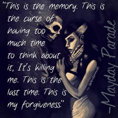 someone help me because the memory convinced itself to tear me apart, and its gonna succeed before long Music Is Life, My Music, Music Lyrics, Lyric Art, Mayday Parade Lyrics, The Amity Affliction, Warped Tour, Pierce The Veil, Save My Life