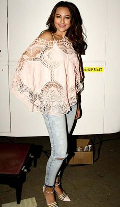 Sonakshi Sinha at a special screening of 'Force 2'.