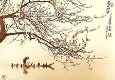 #haiku soffia il vento - i boccioli di pruno si tengon forte  (Uejima Onitsura, 1661-1738)