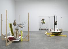 This exhibition features new large-scale sculptures by Richard Tuttle. It is the artist's second solo exhibition at Pace since joining the gallery in Modern Sculpture, Abstract Sculpture, Sculpture Art, Sculptures, Richard Tuttle, Bokashi, Installation Art, Art Installations, Interactive Art