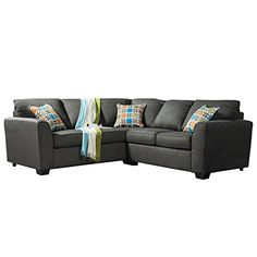 HOMES Inside  Out IDF3035SEC Ardith Fabric Sectional *** Details can be found by clicking on the image.