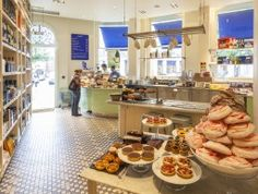 Carluccio's is a lovely restaurant and deli in Covent Garden London.