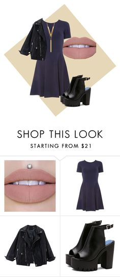 """Beautiful night"" by sofipalacio on Polyvore featuring moda, Dorothy Perkins y BERRICLE"