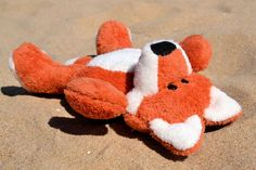Hand sewn plush fox PUKI ;)