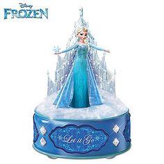 Disney FROZEN Let It Go Music Box with Idina Menzel's Award-Winning Vocals