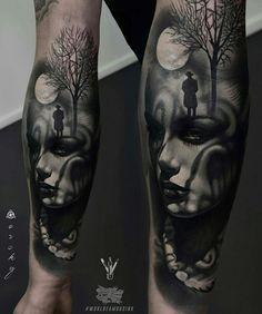 87928d645 Swing Tattoo, Cool Forearm Tattoos, Forearm Tattoo Design, Top Tattoos, Face  Tattoos