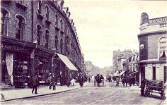 The Quadrant in Richmond Richmond Surrey, Richmond London, Richmond Upon Thames, Old London, Beautiful Streets, London Photos, Local History, Historical Photos, Old Photos