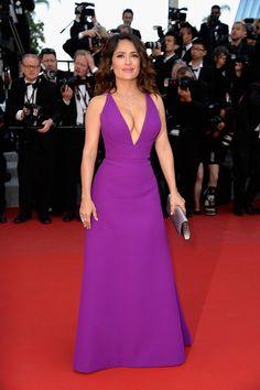 Salma Hayek de Gucci - Cannes 2015                                                                                                                                                                                 Mais