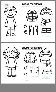 clothes worksheets for kids Seasons Worksheets, Preschool Worksheets, English Activities, Preschool Activities, Teaching Kids, Kids Learning, Clothes Worksheet, Creative Curriculum, Free To Use Images