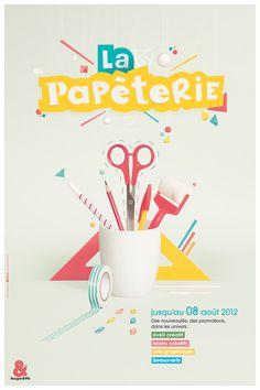 Rougier et Plé - posterpapetrie - affiche - Portfolio Max Elbling