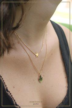 Schutzengel to-go! Diese süße zweireihige Kette macht ein wundervolles Geschenk für Freundinnen und Firmlinge!