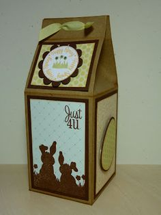 http://www.craftingwithkatie.com/  Milk carton from All Wrapped Up cartridge