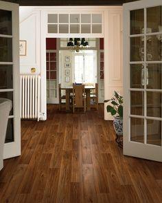 Windridge Golden Hickory Hardwood Flooring by Mohawk   Breathtaking Hardwood   Entryway   Home Inspiration  