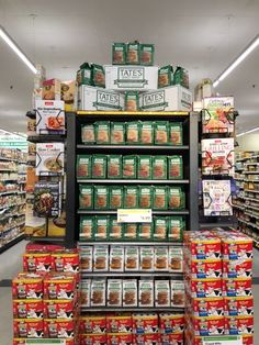 What a grand display of fabulous Tate's cookies. Grab some today!