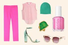 Brighten Up: How To Wear Spring's Best New Statement Shades #refinery29