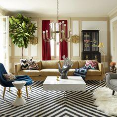 Living Room Interior, Living Room Chairs, Living Room Furniture, Living Room Decor, Modern Furniture, Living Rooms, Dining Room Interior Design, Modern Decor, New Interior Design