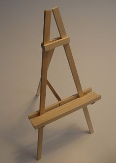 how to make an easel frame stand tripod stand diy repurposing