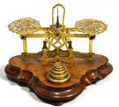 Postal Scale, Mordan, English, Brass, Circa 1860