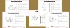 Recursos educativos: Fichas de grafomotricidad